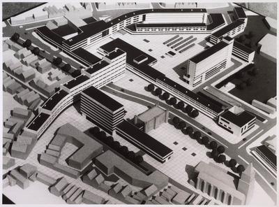 Ontwerp Koningsplein 1965